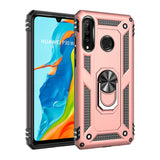 PC + TPU Protective Case with Kickstand for Huawei P3Lite