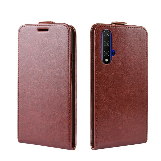 Crazy Horse Leather Phone Case for Huawei Honor 20