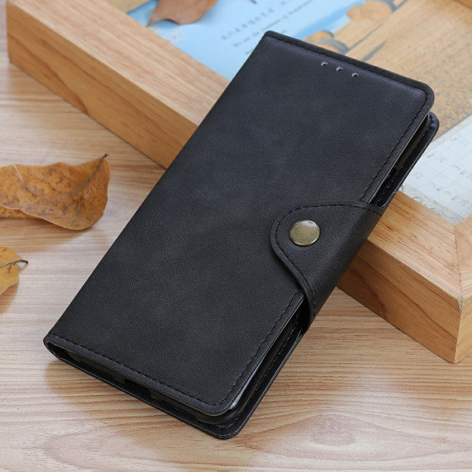 Wallet Brass Buckle Leather Phone Case for Huawei Honor 20
