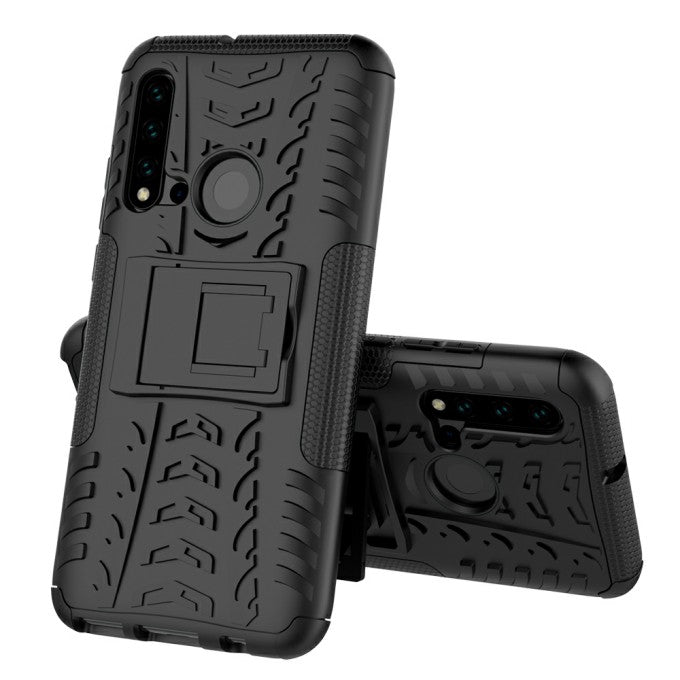 TPU + PC Protective Case with Ring Kickstand for Huawei P2lite (2019)