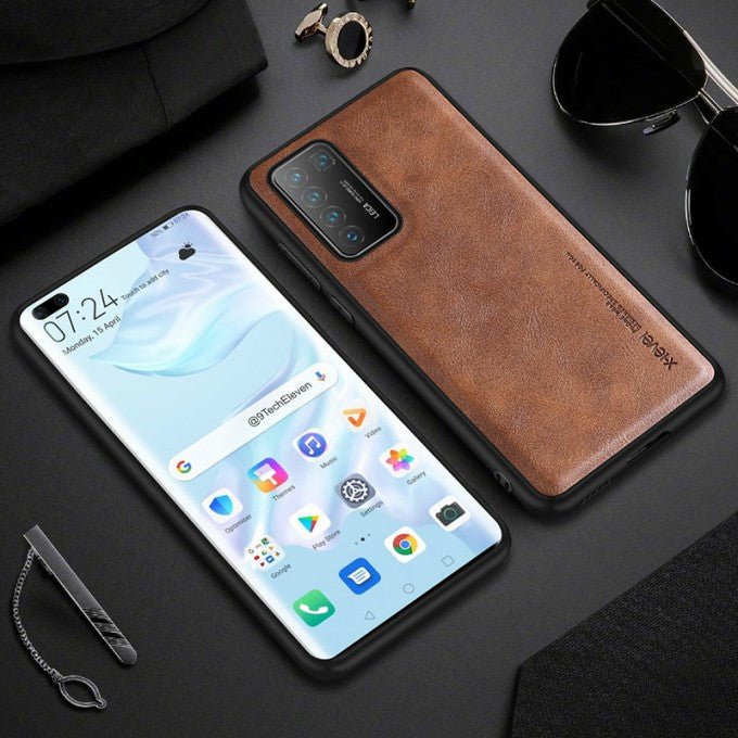 PU Leather Protective Case for Huawei P4Pro