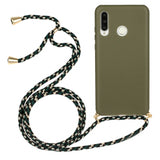 TPU Protective Case with Hand Strap for Huawei P3Lite