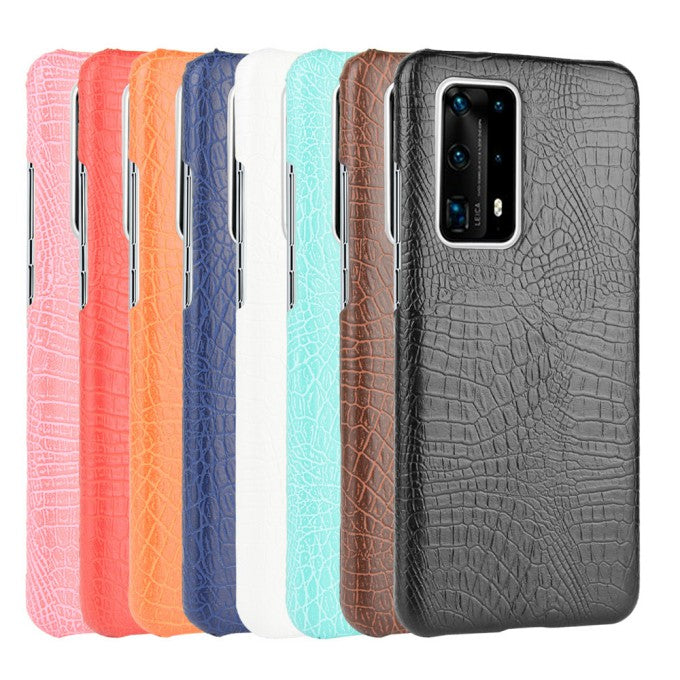 Crocodile Texture PU Leather Protective Case for Huawei P4Pro+
