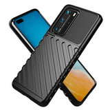 Twill Skin Soft TPU Protective Case for Huawei P4Pro