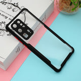 Anti-drop TPU Frame + Acrylic Bi-color Phone Case for Huawei P40 Pro+