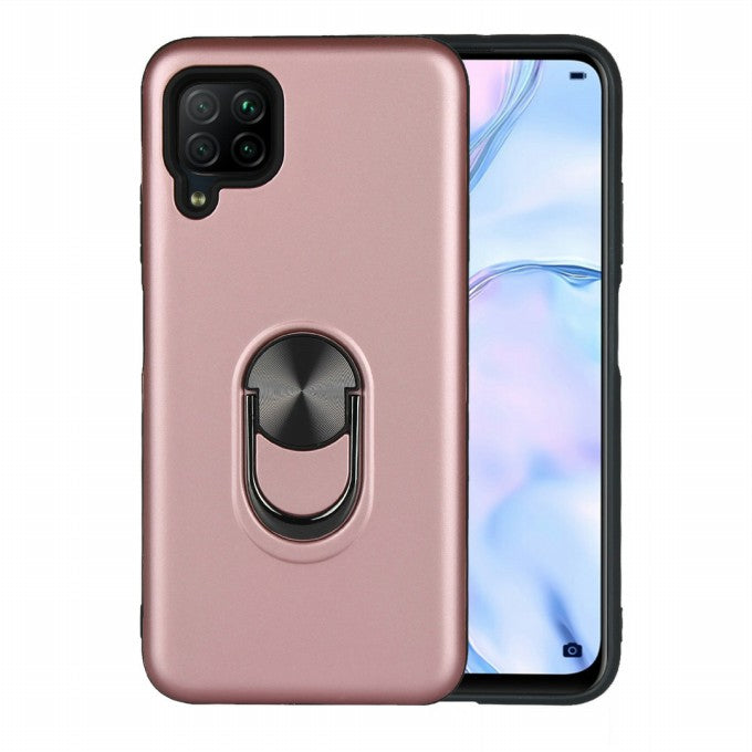 Detachable PC + TPU Combo Protection Case with Kickstand Case for Huawei P40 Lite 4G