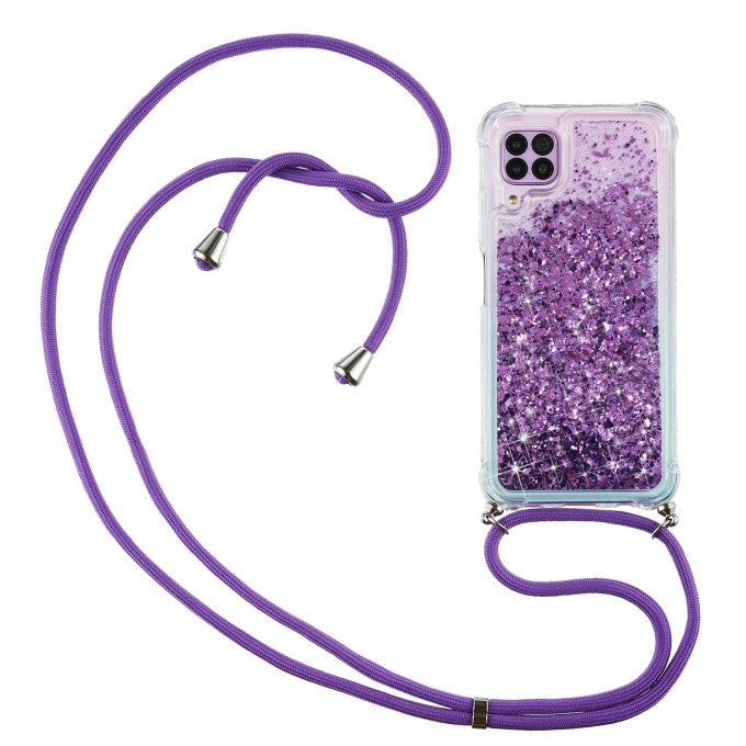 Glitter Powder Quicksand TPU Stylish Case for Huawei P40 Lite 4G