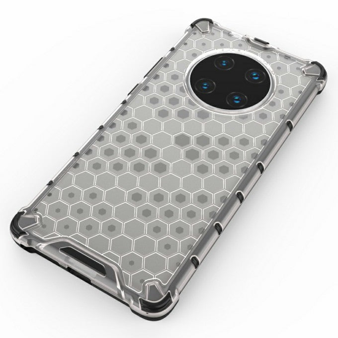Shock-proof Honeycomb Pattern TPU + PC Hybrid Case for Huawei Mate 40 Pro