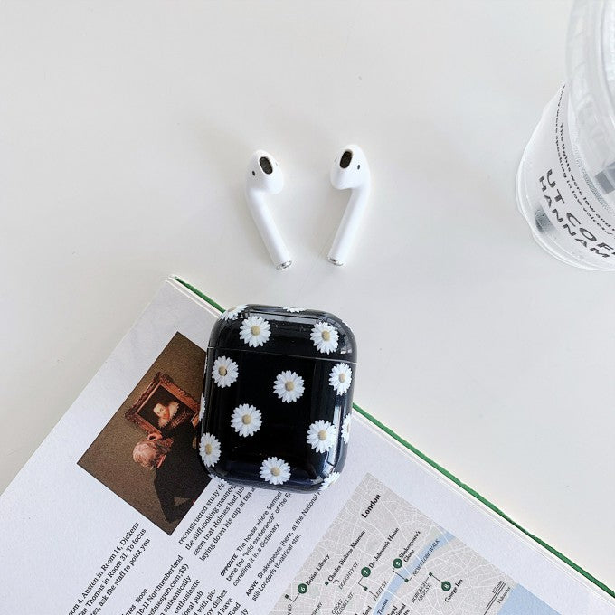 Water Decal Cow Skin PC Protective Case  for Apple AirPods