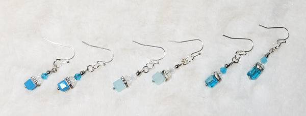 FASHION BLUE EARRINGS