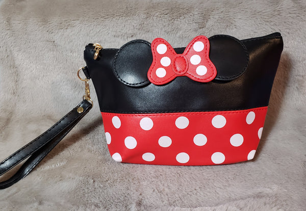 BOW WRISTLET MAKEUP HANDBAG