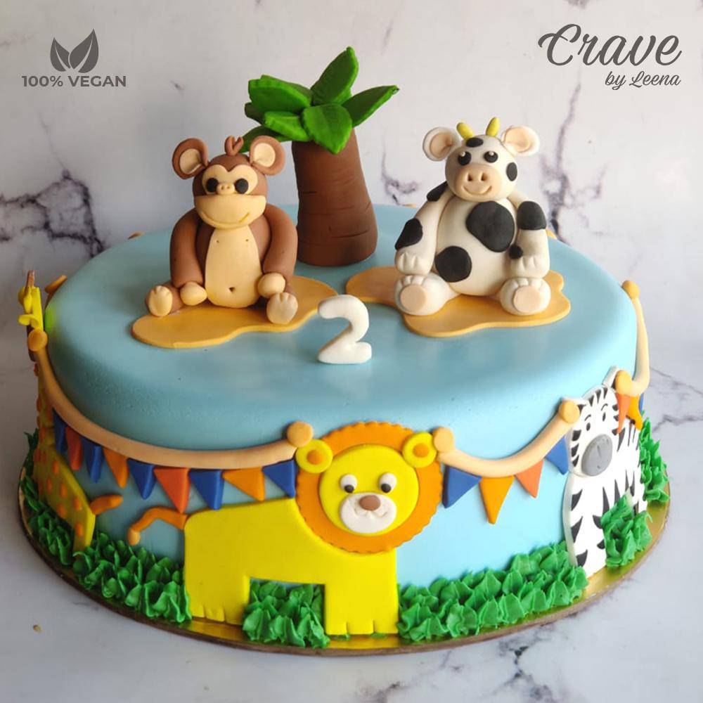You Say Roar We Say Moo Cake - Crave