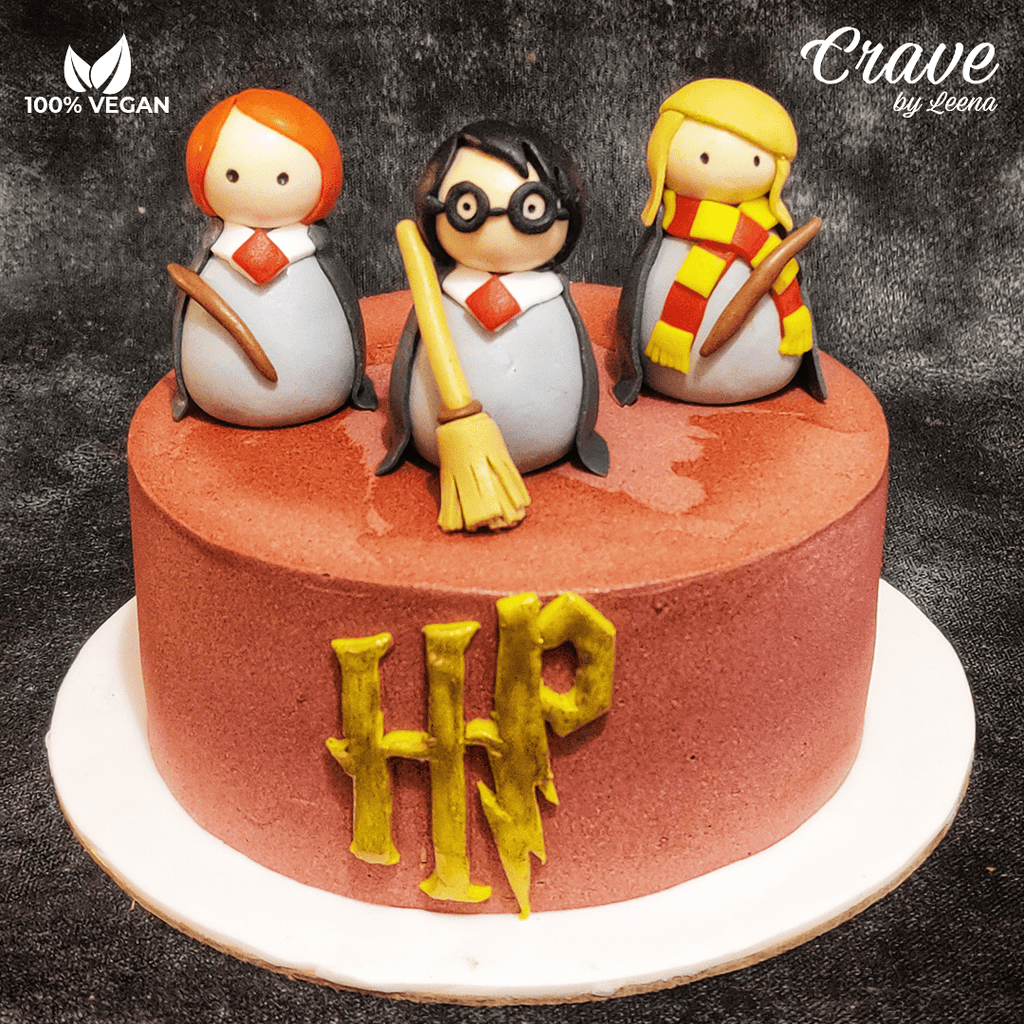 Hermoine, Harry & Ron Cake - Crave