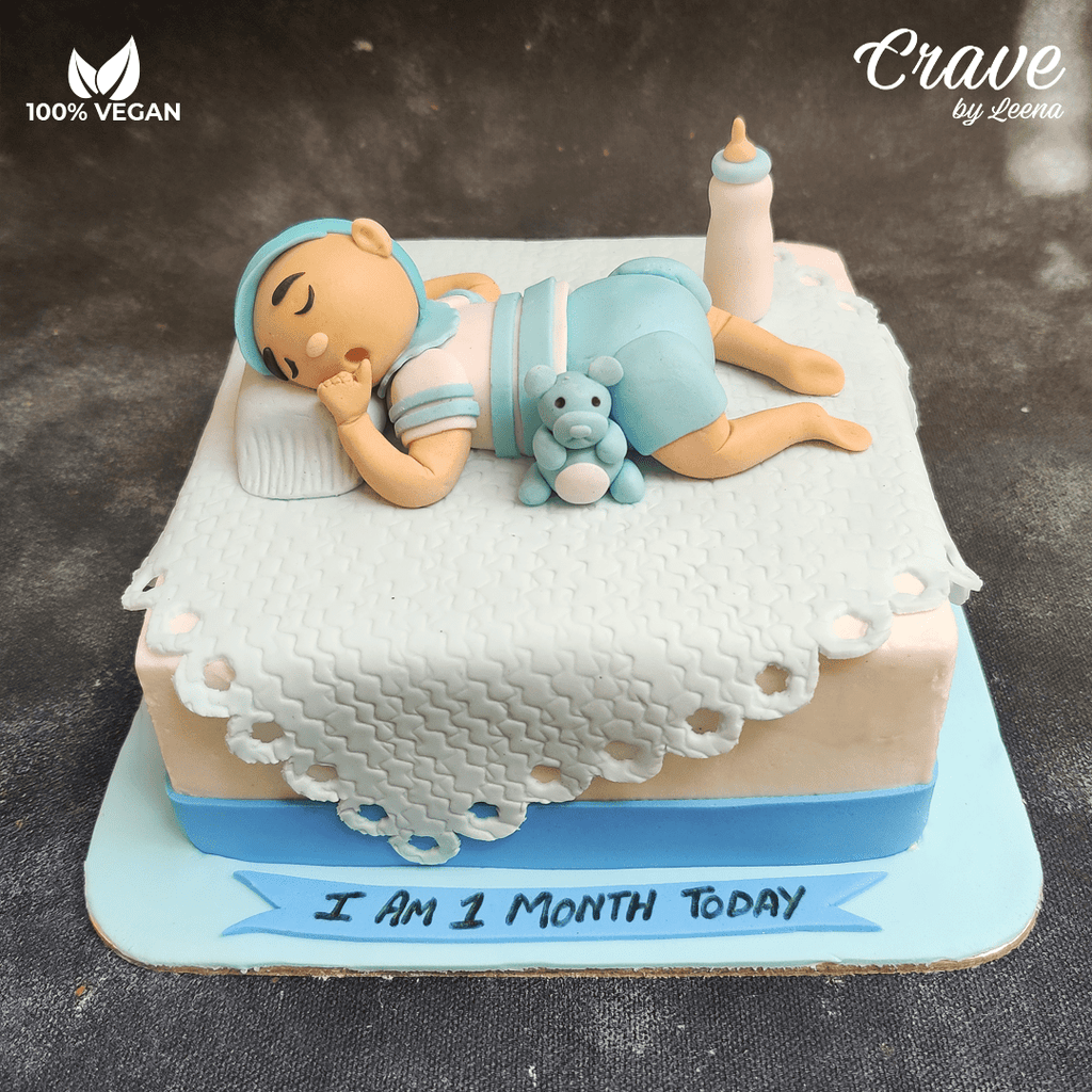 I am one month old Cake - Crave