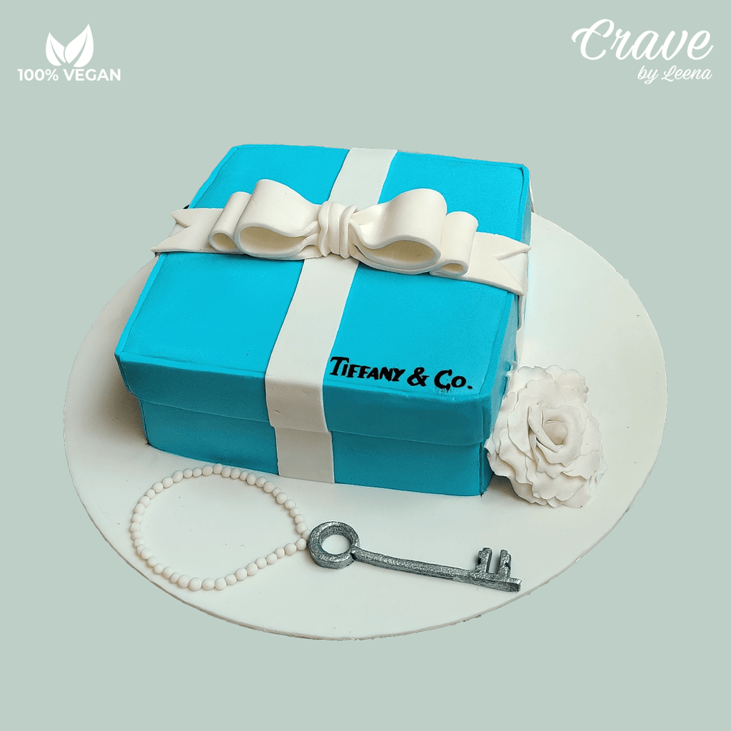 Tiffany & Co Cake - Crave