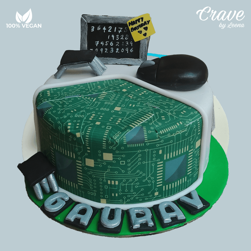 Circuit Board Cake - Crave