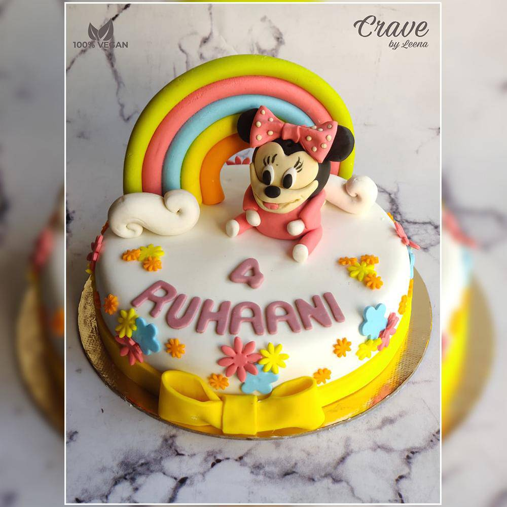Minnie Mouse Cake - Crave