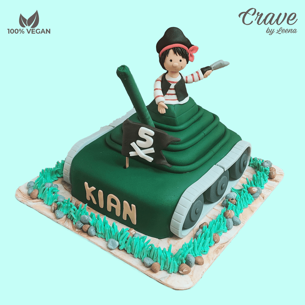 Pirate on a Tanker Cake - Crave