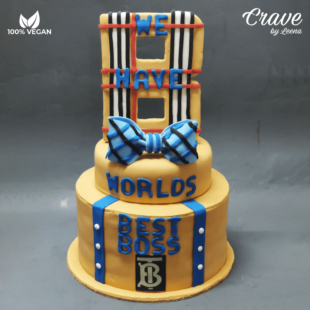 Burberry Cake - Crave