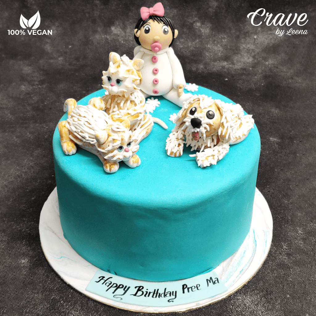 Toddler with some Furries Cake - Crave