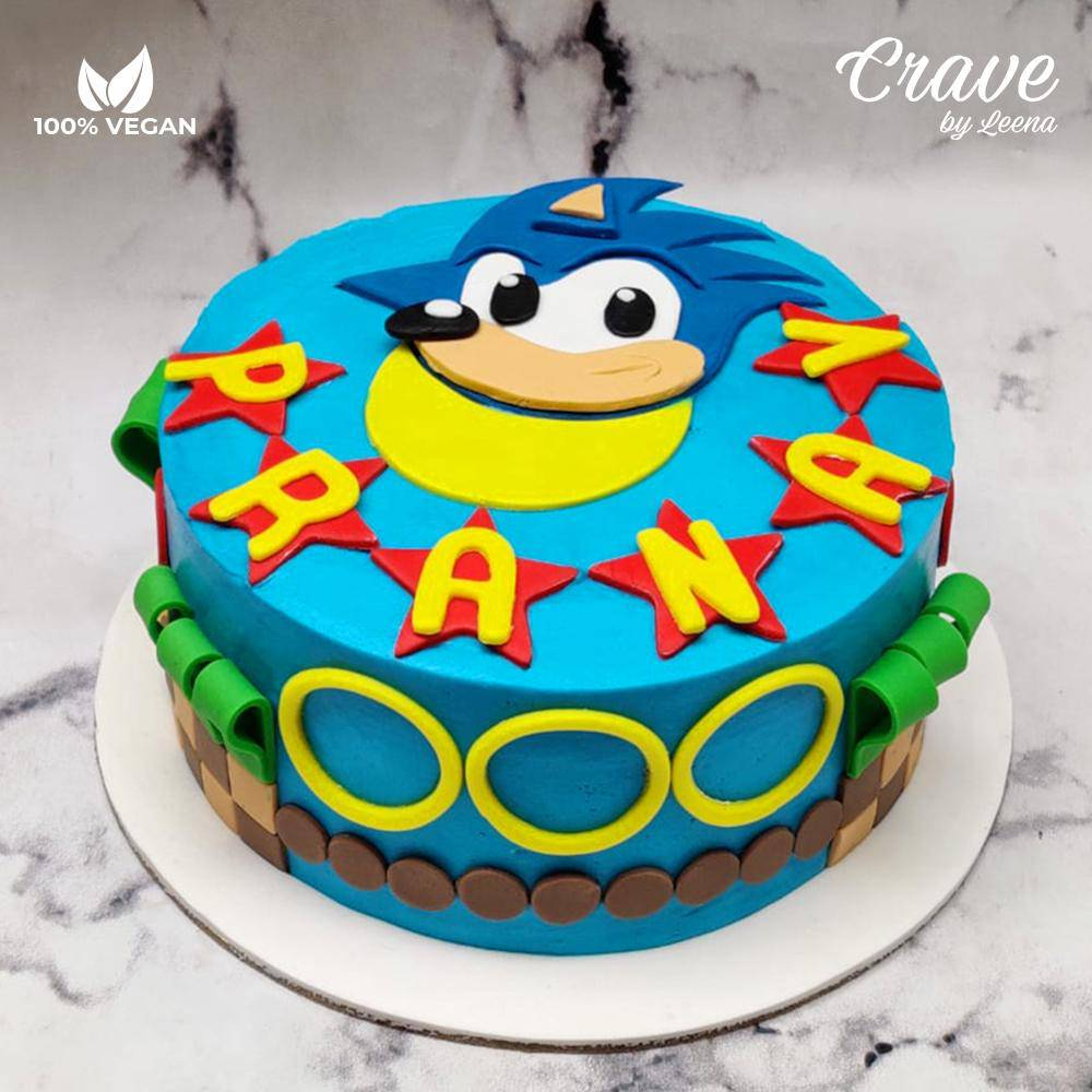 Sonic the Hedgehog Cake - Crave