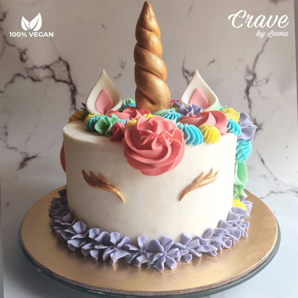 Colorful Unicorn Cake - Crave