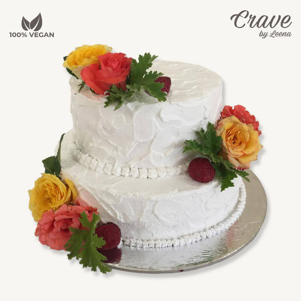 Rustic Wedding Cake - Crave
