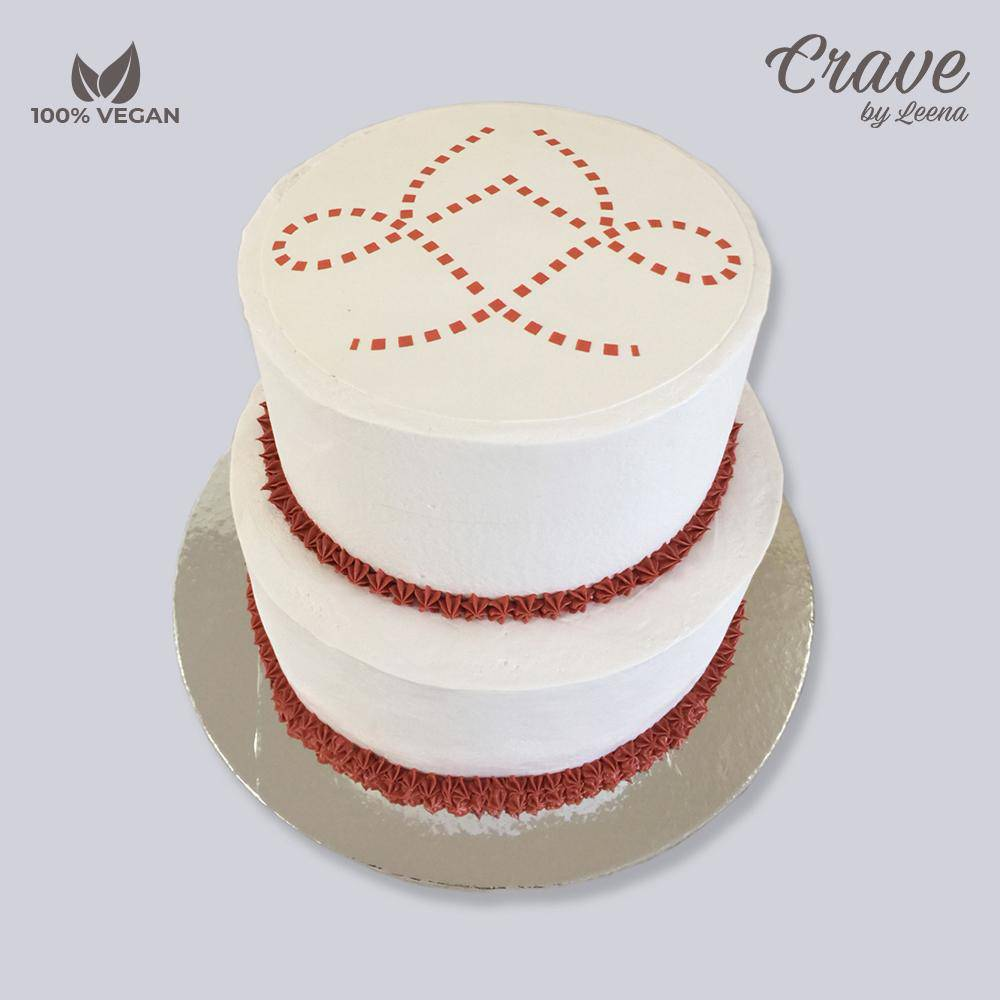 Corporate Logo Cake - Crave
