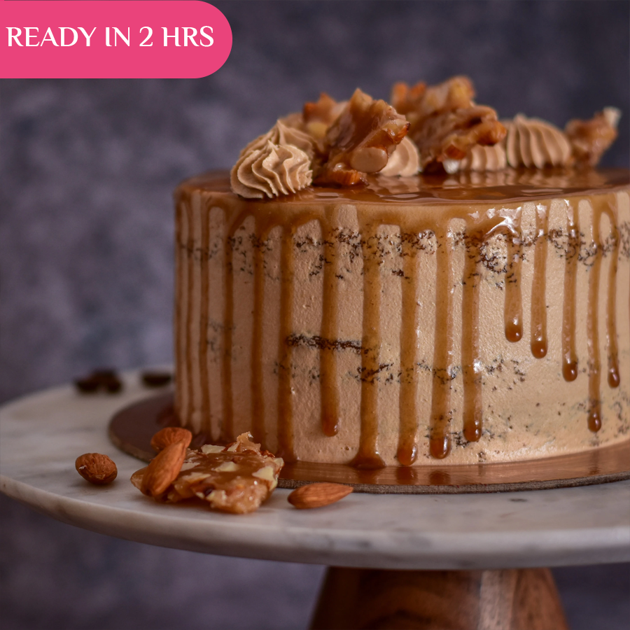 Coffee Butterscotch Cake (Pickup in 2 Hours) - Crave