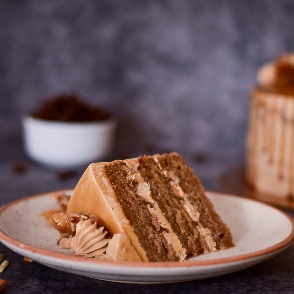 Coffee Butterscotch Cake - Crave