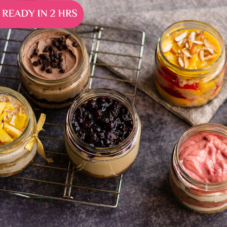Jar Desserts 5 Pack (Pickup in 2 Hours) - Crave