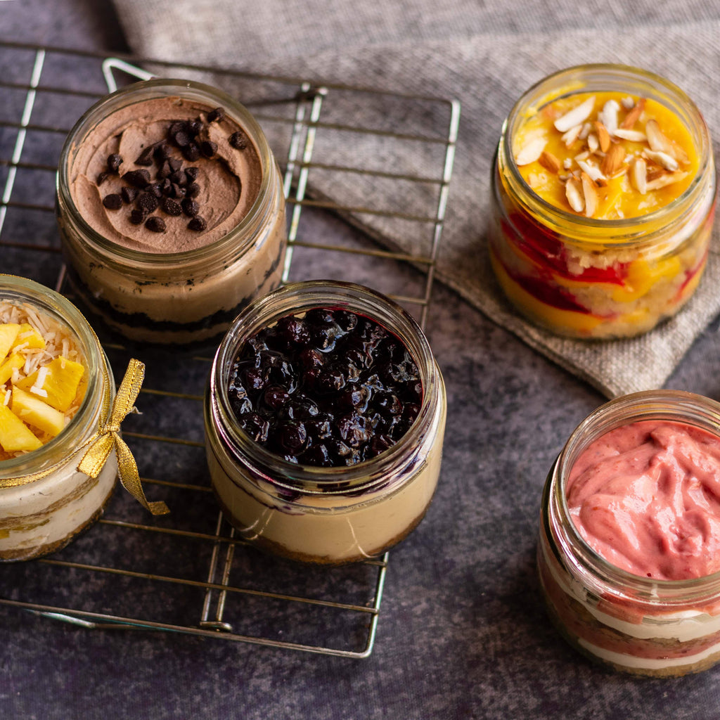 Jar Desserts 5 Pack (250 GRAMS each jar. Total 1.5 KGS) - Crave