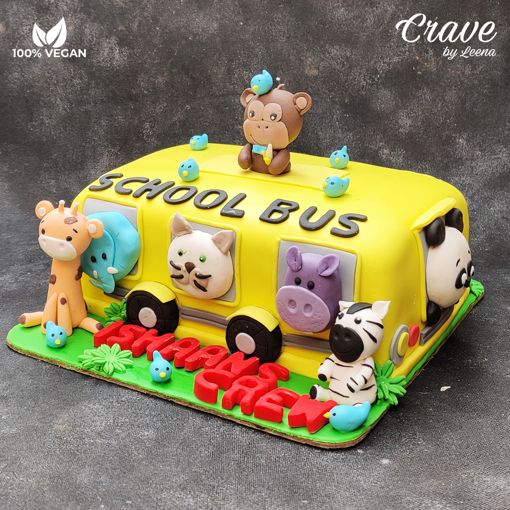 Animal School Bus Party - Crave