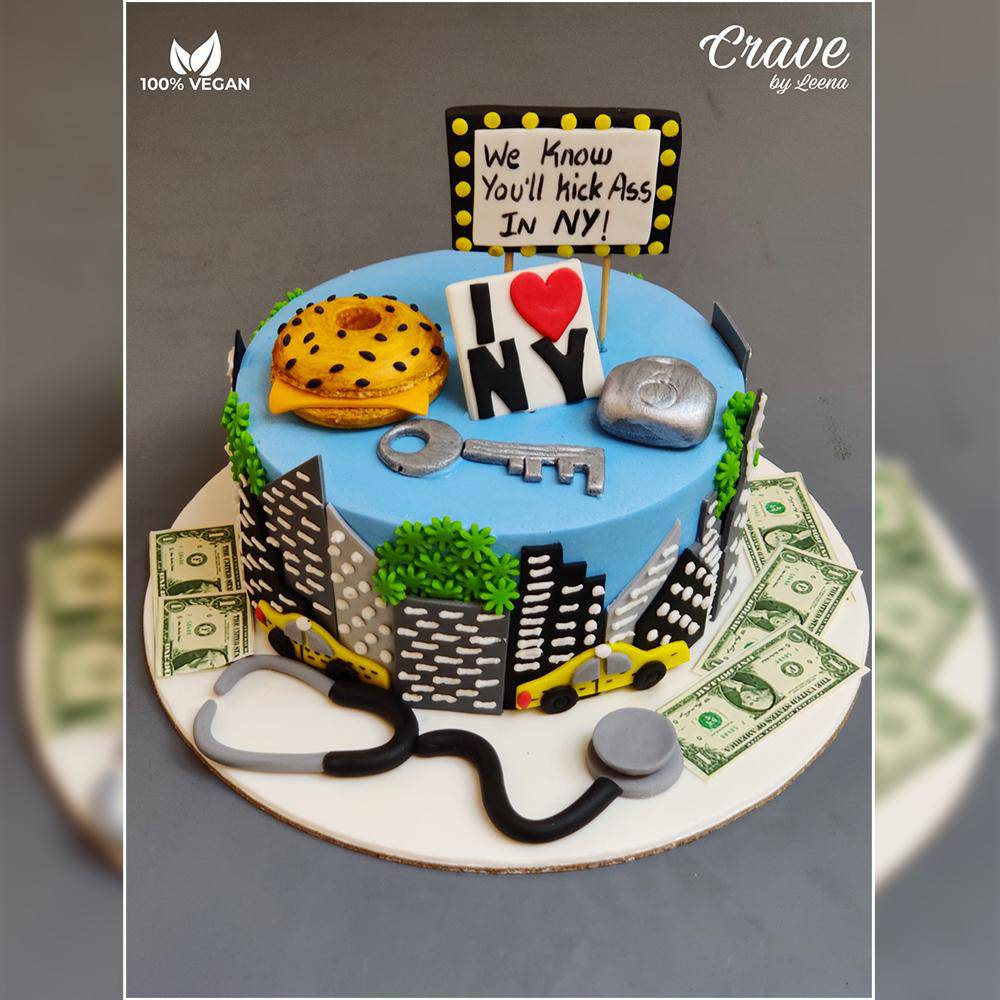 New York  Cake - Crave