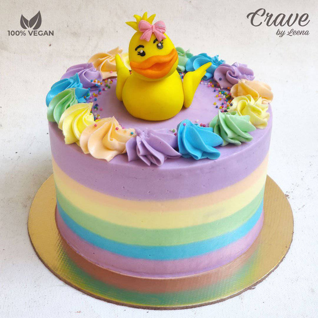 Chick in a  Rainbow - Crave