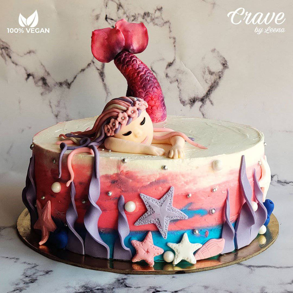 Mermaid Cake - Crave