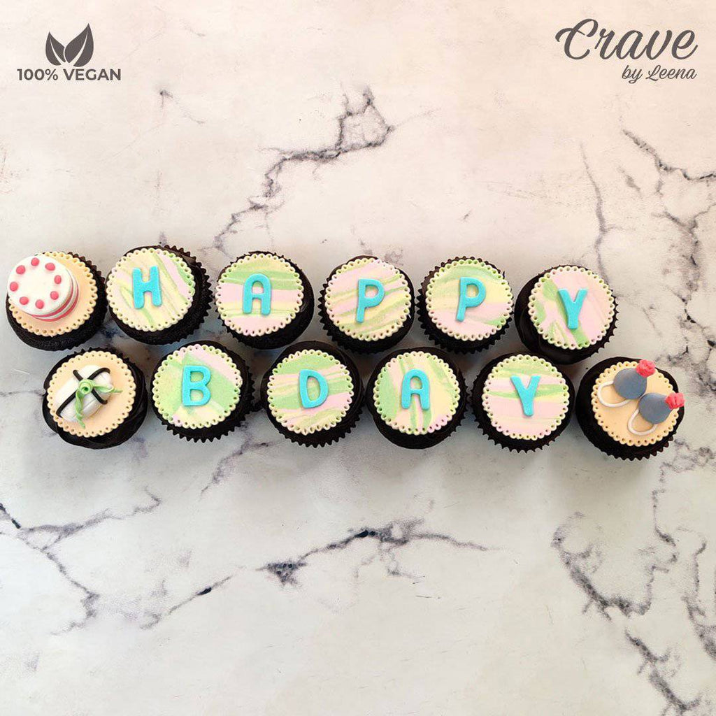 Happy Birthday Cupcakes - Crave