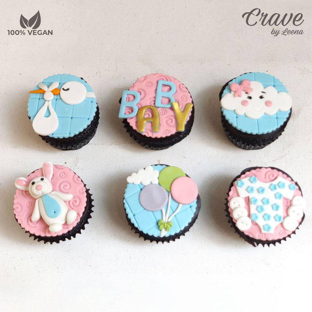 Baby Shower Cupcakes - Crave