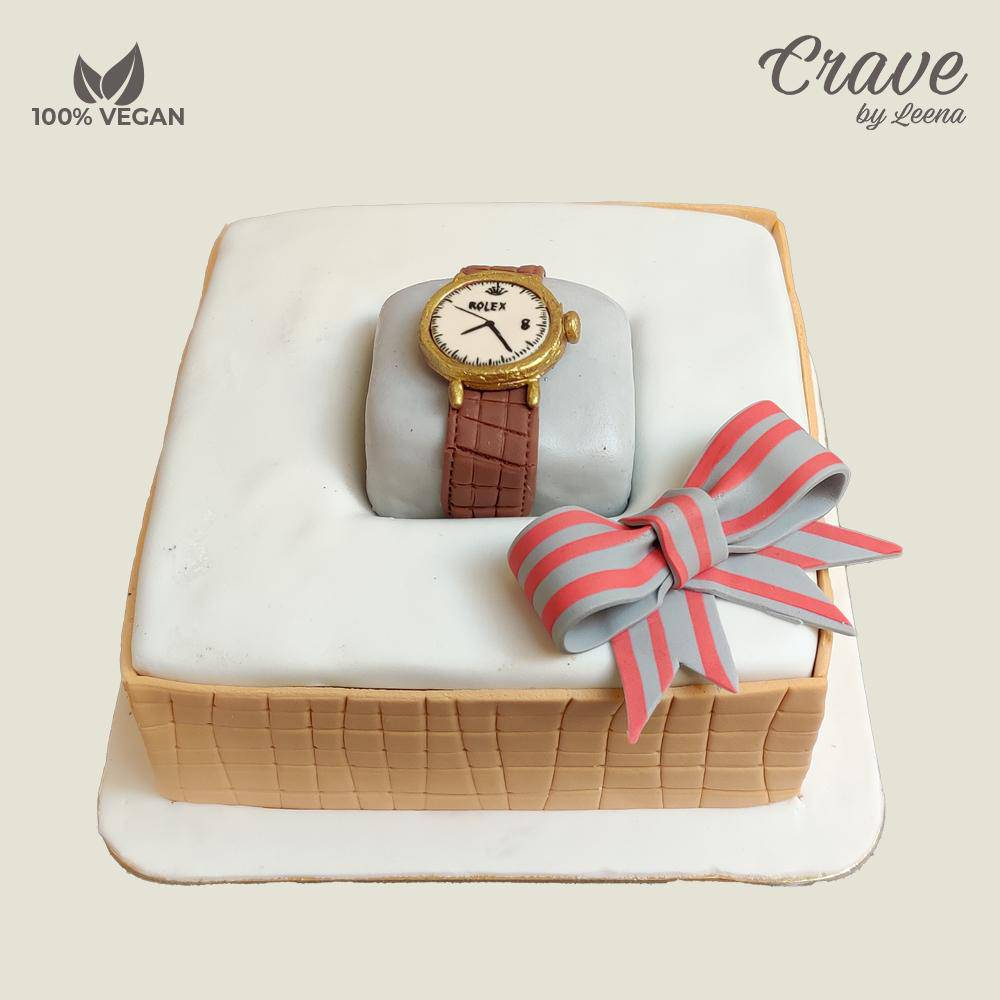 Luxury Rolex Watch Collection Cake - Crave