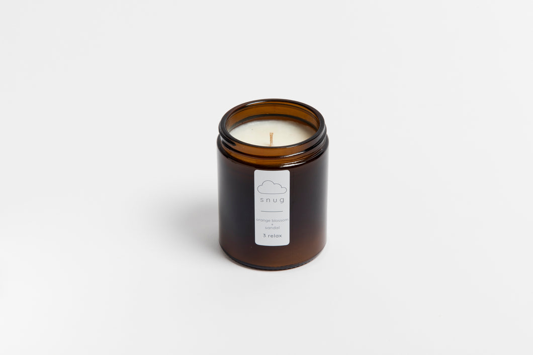 Travel size candle 180g
