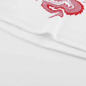 Chineese Dragon Crop Top