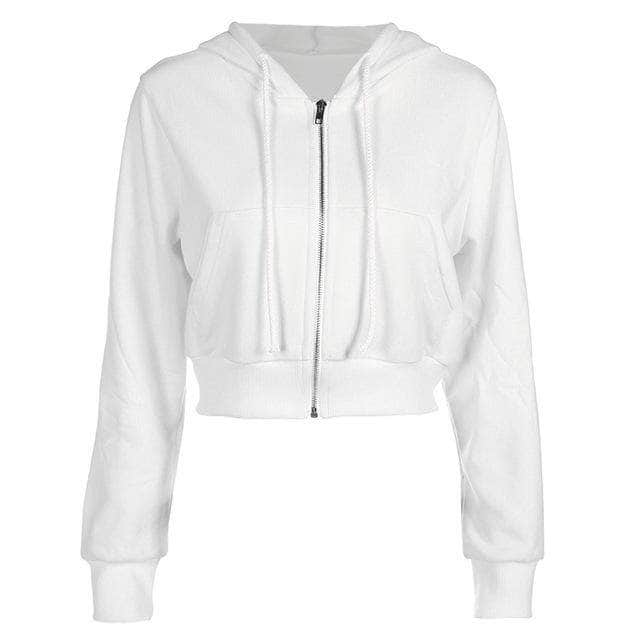 Hooded Cropped Jacket