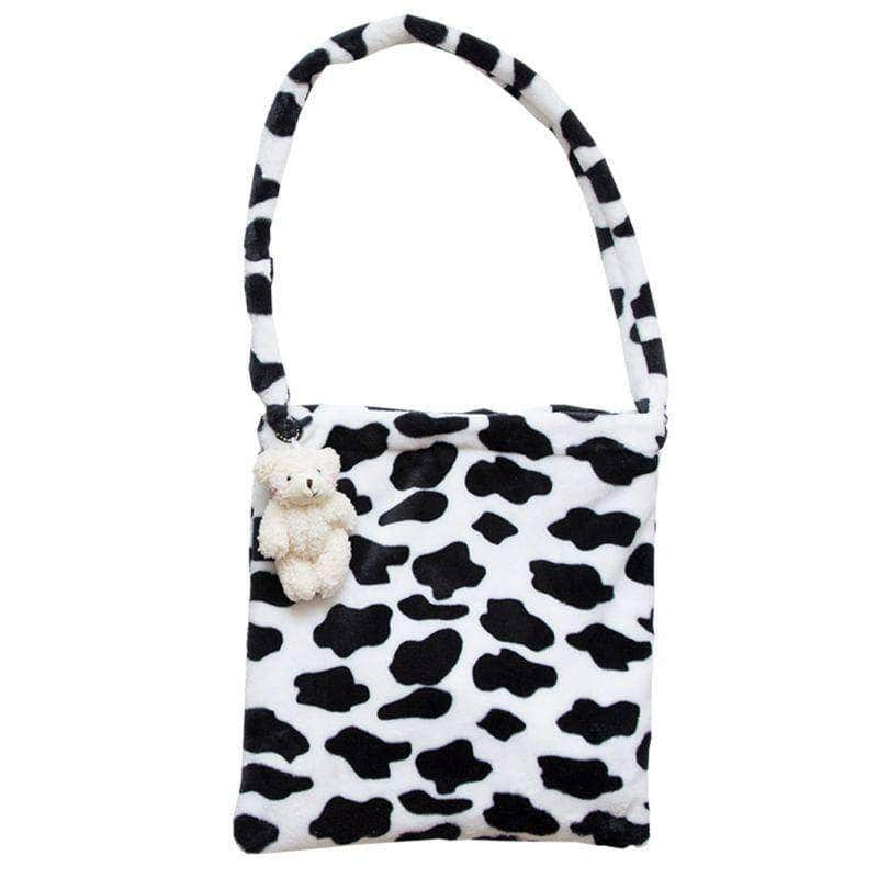 Cow Pattern Tote Bag