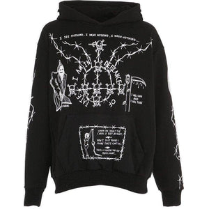 Double-Sided Grafiphcal Hoodie