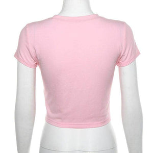 Spoiled Pink Crop Top