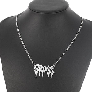 Gross Pendant Necklace