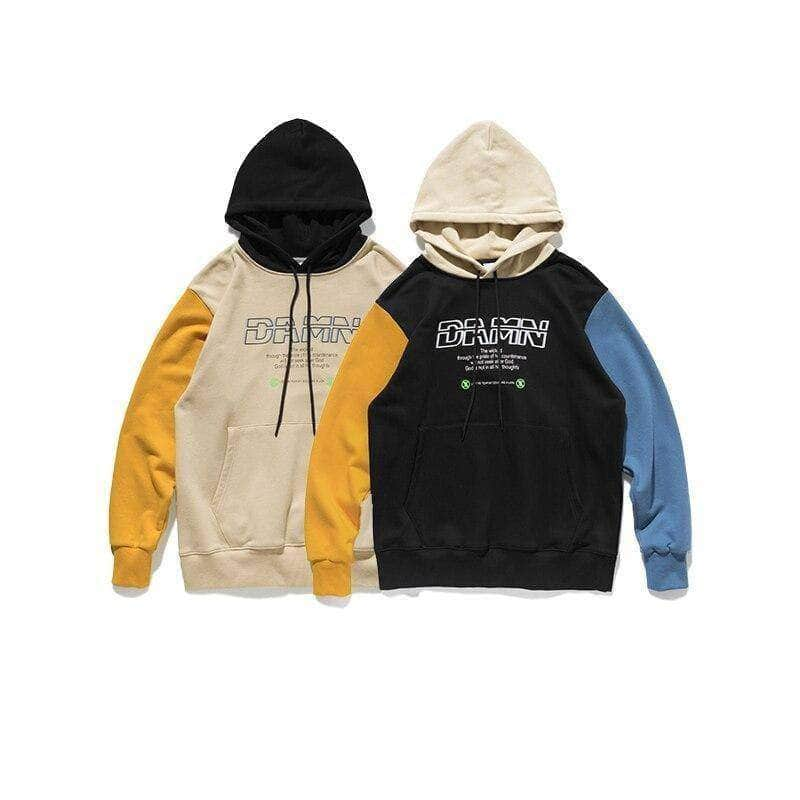 Color Blocks Hoodies
