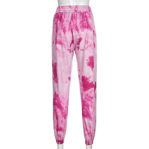 Tie Dye Loose Sweatpants
