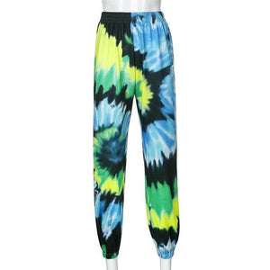 Tie Dye Butterflies Sweatpants