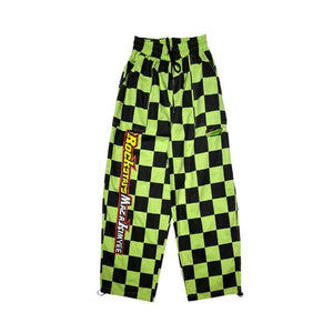 Plaid Race Pants
